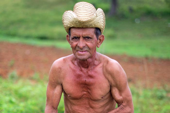 photojournalist Cuban farmer