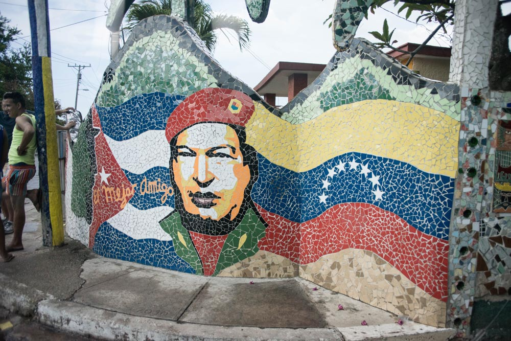 mosaic by Olivia Crutchfield in Cuba